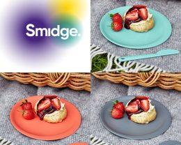 """Smidge"" 100%自然原料、地球にやさしいイギリスの食器ブランド"