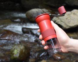 海、山、川に!ポータブルコーヒーミル Krinder(クラインダー)